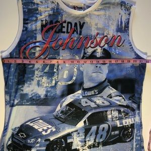 Jimmie Johnson #48 Lowes NASCAR tank top size 2X